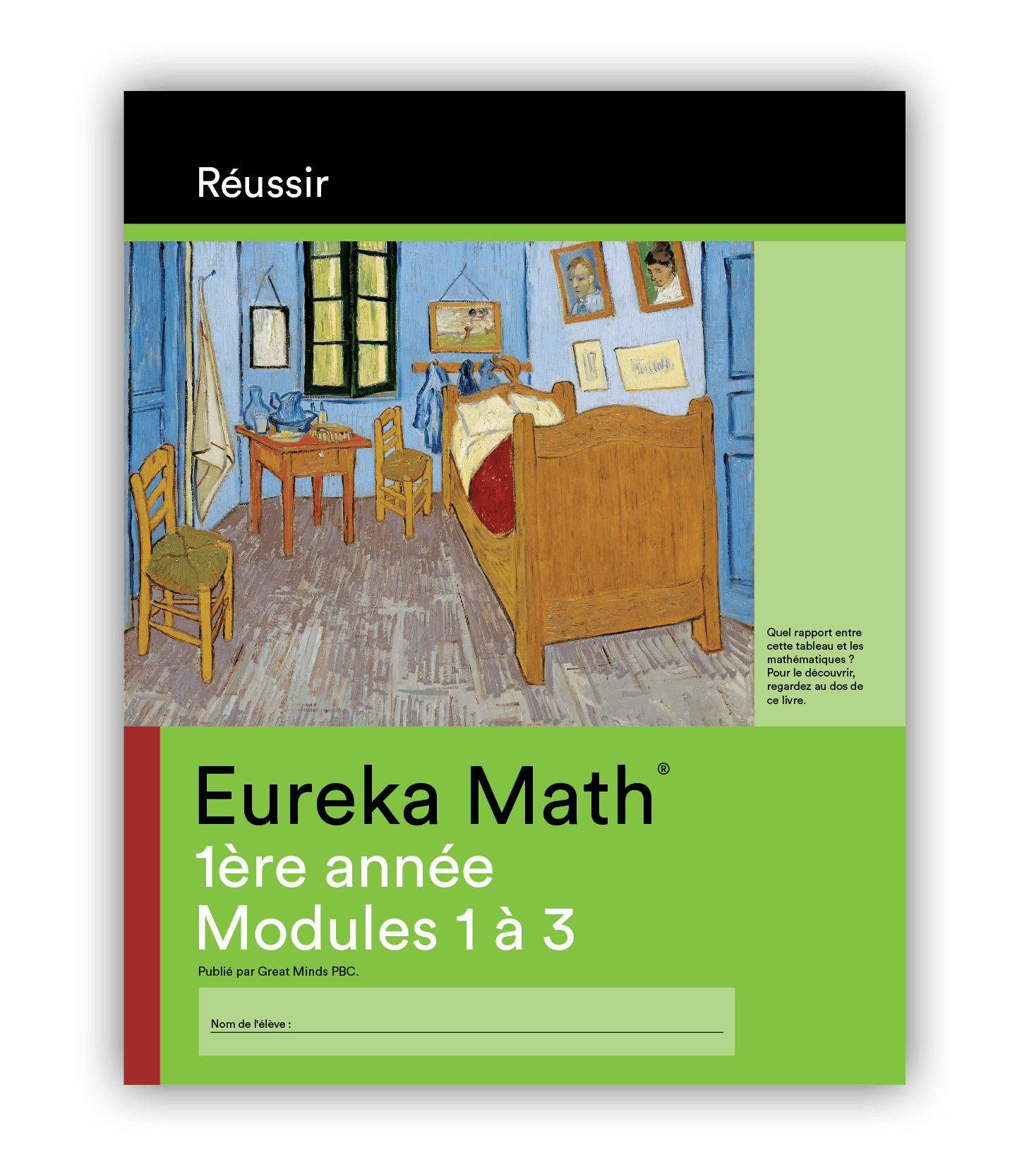 Eureka Math Succeed Book in French for Grade 1