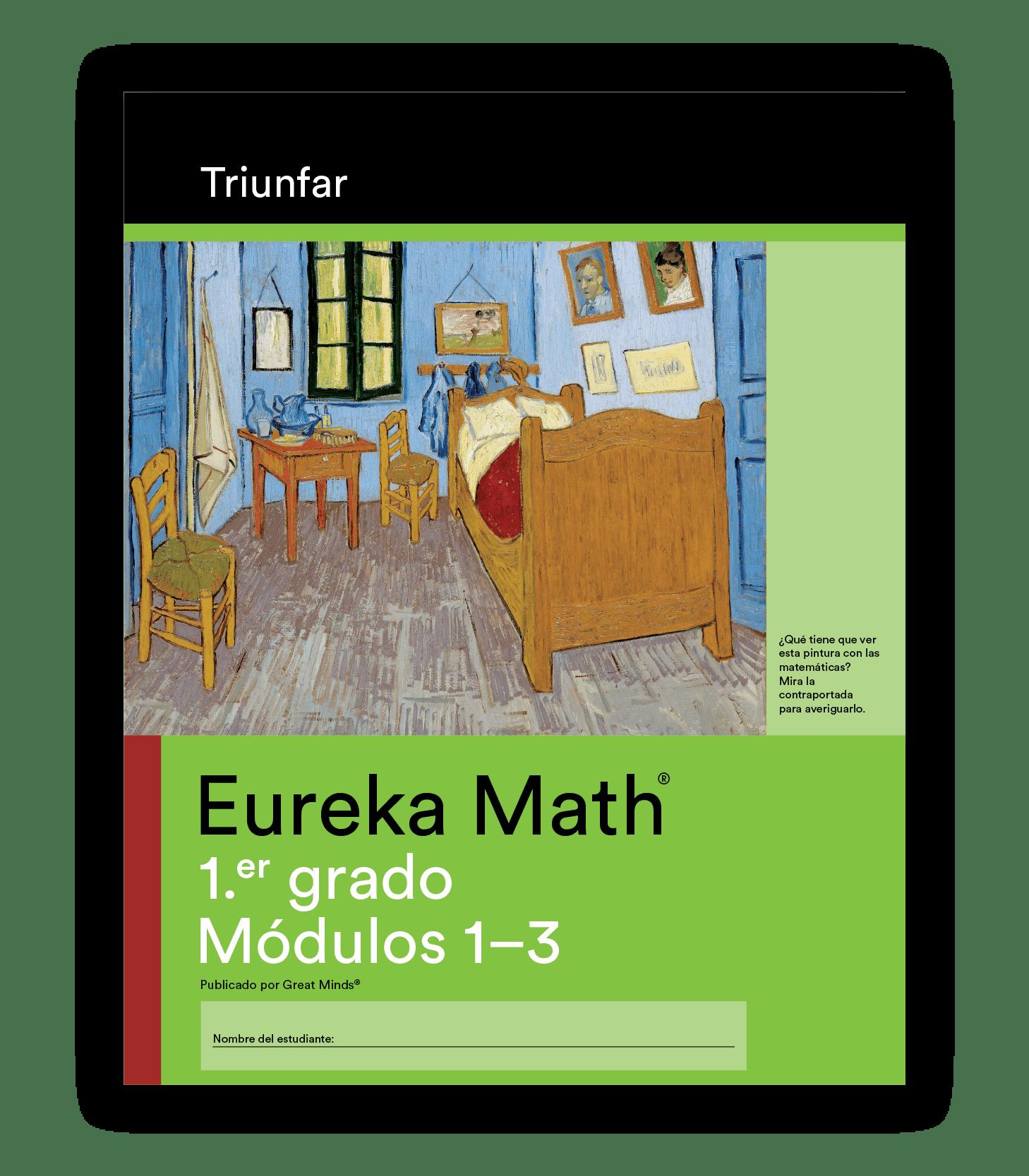 Eureka Math Succeed Book in Spanish for Grade 1