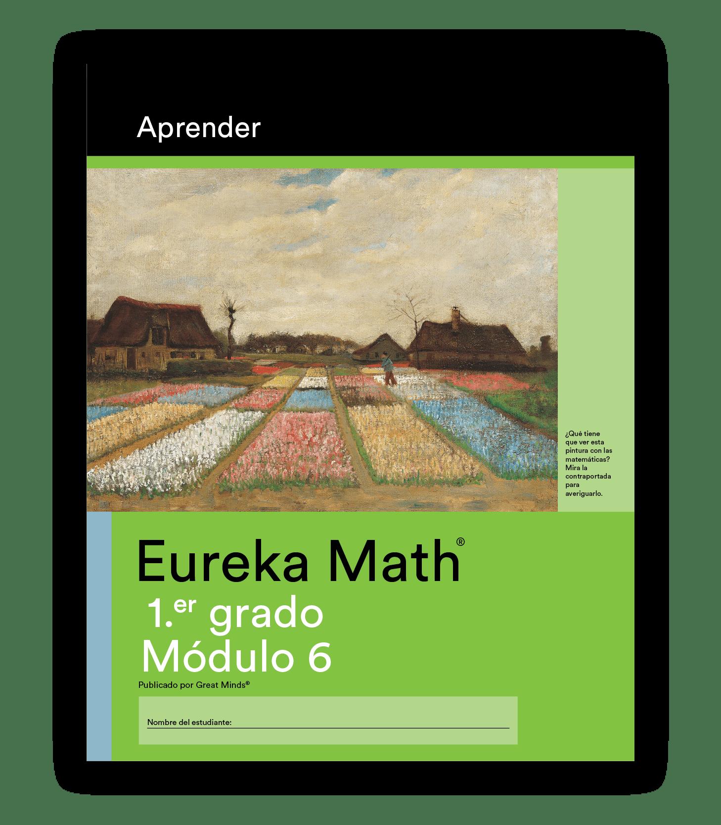 Eureka Math Learn Book in Spanish for Grade 1