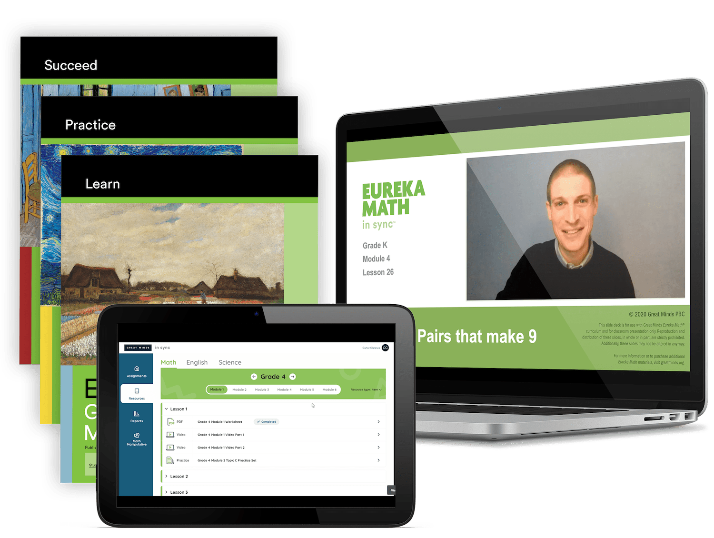 Eureka Math Print and Digital Bundle